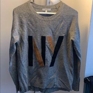 Madewell wool NY crew sweater